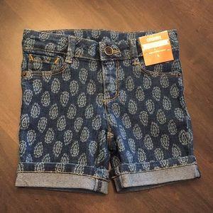 Gymboree Bermuda shorts, size 4 NWT